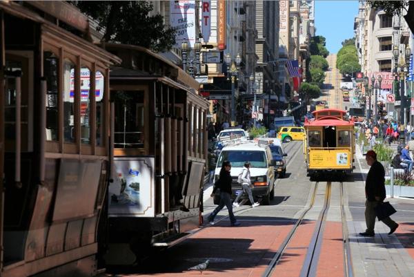 サンフランシスコでの体験と印象〜SF街並編